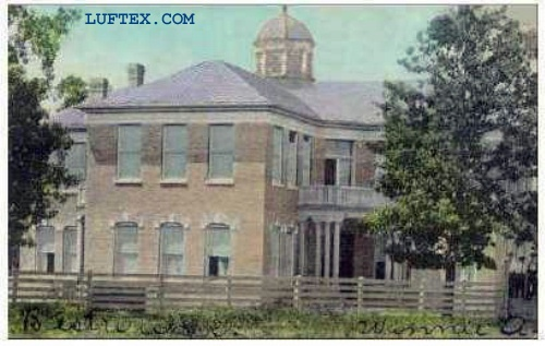 Lufkin High School 1908. May have been both the Senior and Junior High